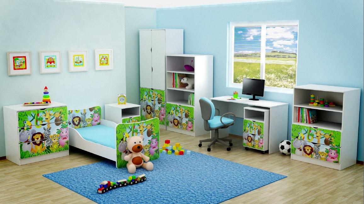 Detské postieľky detské postele detské skrine detské komody