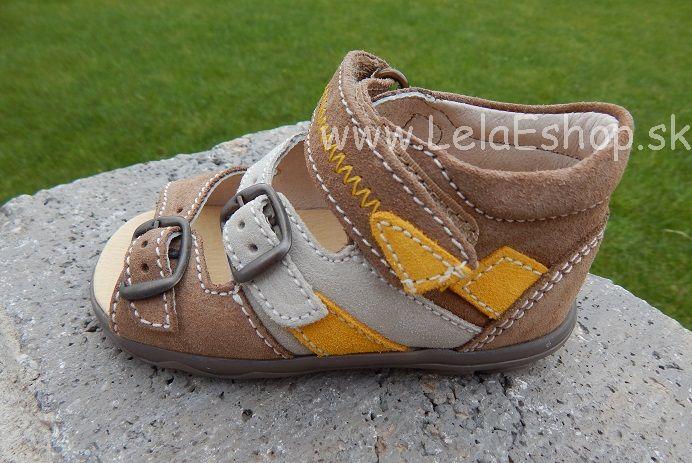 3f312152bd8c Detská obuv Richter - sandále hnedé veľ. 21