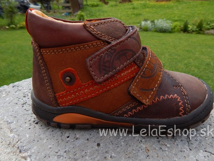 9498a1700ce0 Detská obuv - topánky hnedé veľ. 22