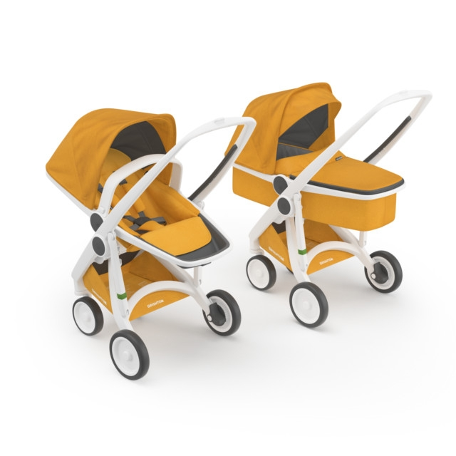 Kočík Greentom Carrycot + Reversible Limited honey
