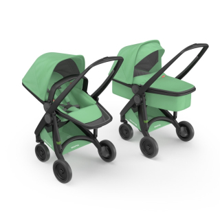 Kočík Greentom Carrycot + Reversible mint