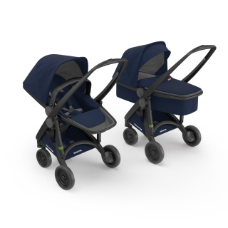 Kočík Greentom Carrycot + Reversible blue