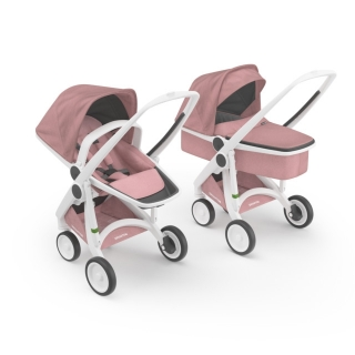 Kočík Greentom Carrycot + Reversible Limited rose