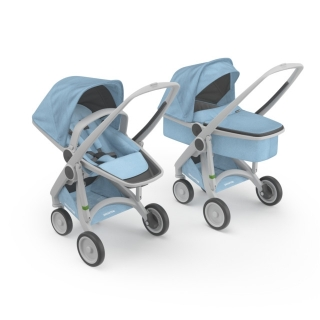 Kočík Greentom Carrycot + Reversible Limited sky
