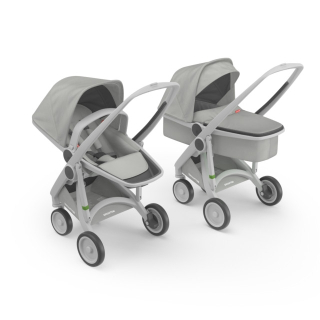 Kočík Greentom Carrycot + Reversible grey