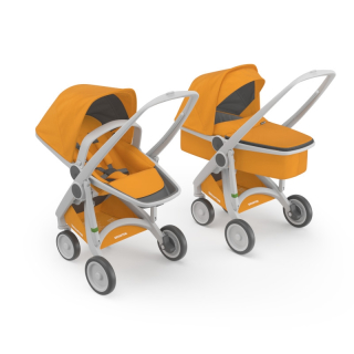 Kočík Greentom Carrycot + Reversible sunflower