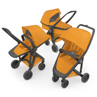 Kočík Greentom Carrycot + Reversible + Classic sunflower
